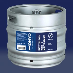 Radical - Have You Ever Been To MONYO Grand? 4.7% 30l KEG