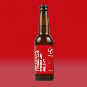 Radical - Keep Calm, It's A Vienna Lager Without Any Bullshit. 4.8% 12x0,33l
