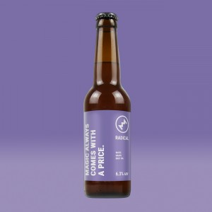 Radical - Magic Always Comes With A Price. 6.3% 12x0.33l